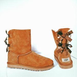UGG Bailey Bow II ankle booties